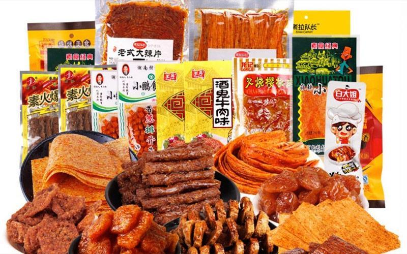 Trung Quốc nổi tiếng với những món ăn vặt được tẩm ướp sẵn